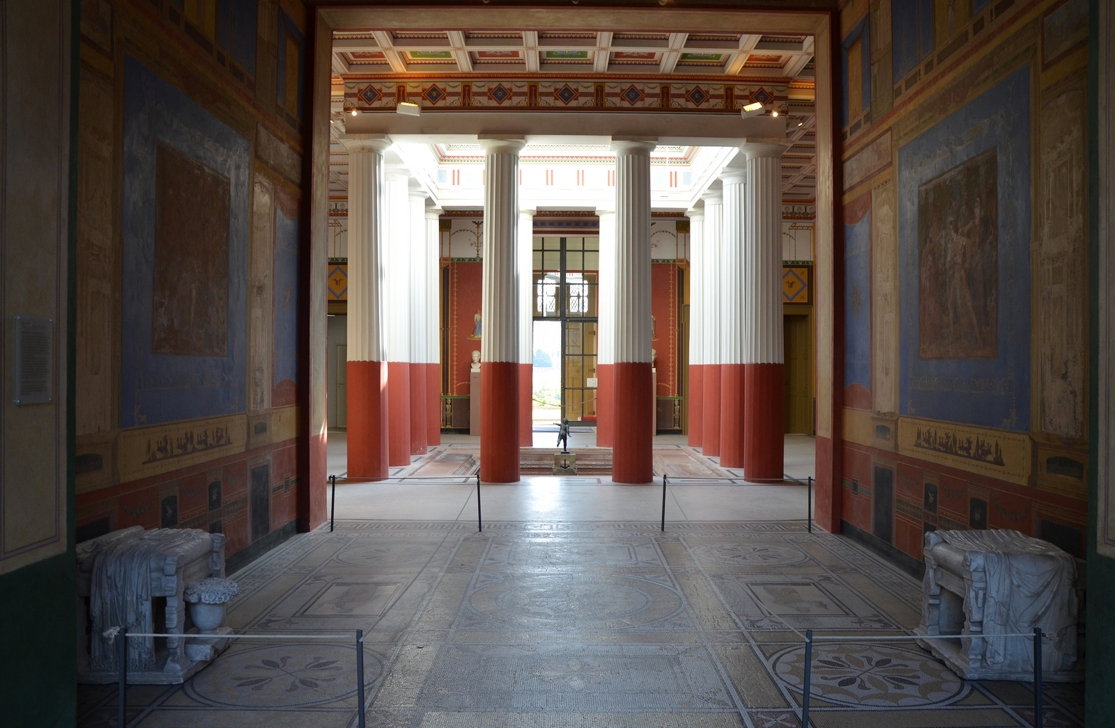 The pompeiianum a reconstructed roman villa in the german What is an atrium in a house