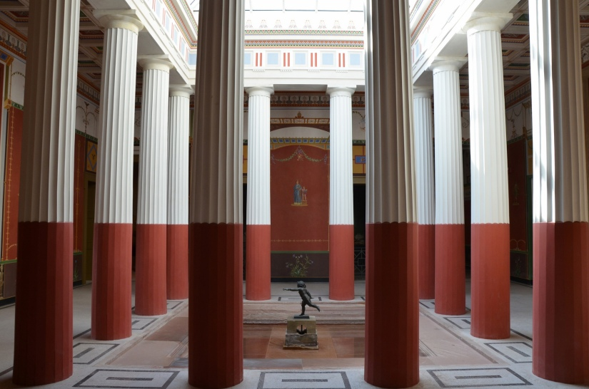 The Atrium, Pompejanum. Aschaffenburg, Germany © Carole Raddato