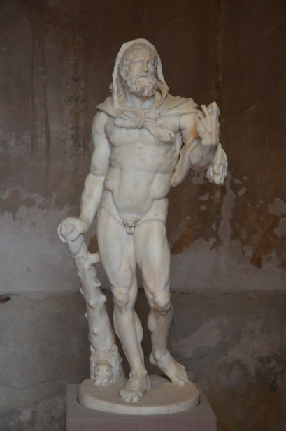 Marble statuette of Hercules, 2nd century AD, Pompejanum, Aschaffenburg, Germany
