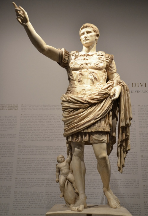 Augustus of Prima Porta, discovered  in the Villa of Livia at Prima Porta © Carole Raddato