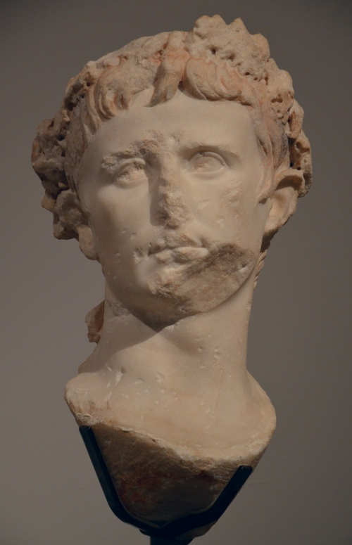 Posthumous portrait of Augustus, discovered in Saintes (France), ca. AD 40 Saintes, Archaeological Museum © Carole Raddato