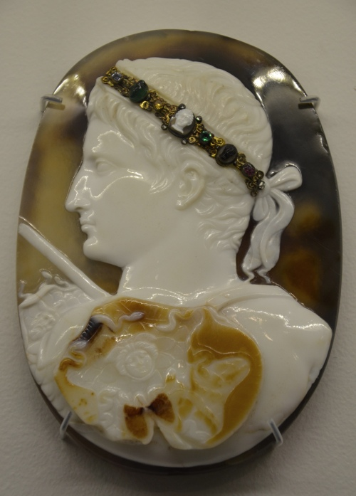 Cameo portrait of Augustus, about AD 14-20 British Museum © Carole Raddato