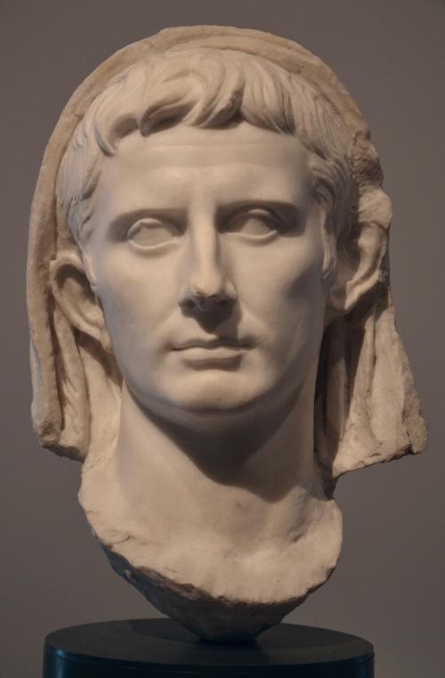 Veiled head of Augustus, end of 1st century BC Ancona, Museo Archeologico Nazionale delle Marche © Carole Raddato