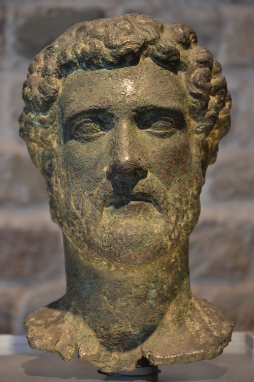 Bronze head of the Emperor Antoninus Pius, Romisch-Germanisches Museum, Cologne © Carole Raddato
