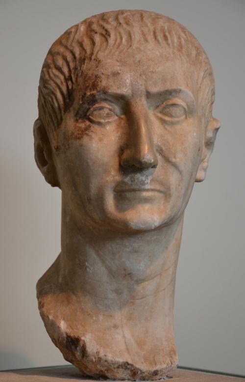 Portrait bust of Trajan (?), Romisch-Germanisches Museum, Cologne © Carole Raddato
