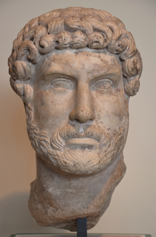 Marble head of Hadrian, Romisch-Germanisches Museum, Cologne © Carole Raddato
