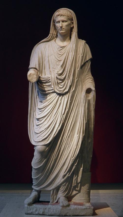 Augustus as Pontifex Maximus, late Augustan period, Palazzo Massimo alle Terme, Rome © Carole Raddato