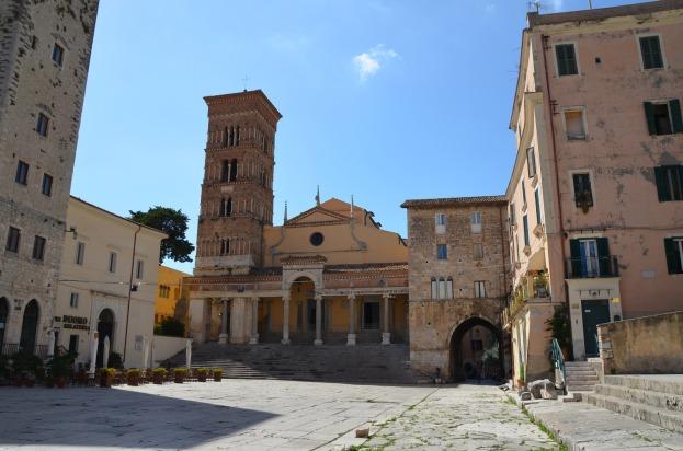 Forum Aemilianum (Piazza del Municipio), Tarracina (Anxur), Terracina, Italy