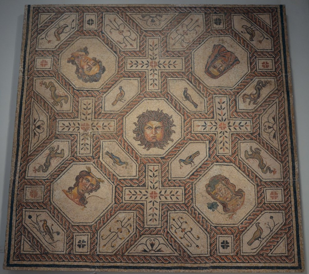Roman Mosaics From The National Archaeological Museum Of