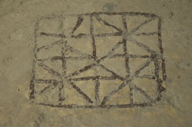 Roman soldiers' game carved into the pavement under the Damascus Gate, Aelia Capitolina © Carole Raddato