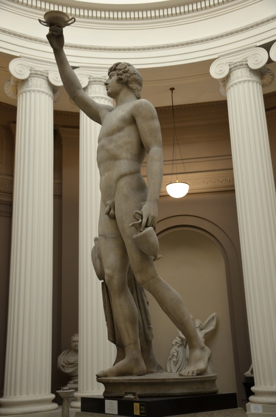 Antinous restored as Ganymede, Lady Lever Art Gallery, Port Sunlight © Carole Raddato