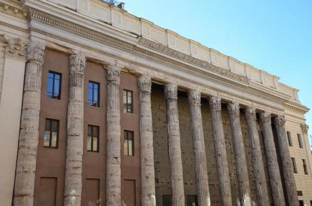 Temple of Deified Hadrian (Hadrianeum), Campus Martius, Rome © Carole Raddato