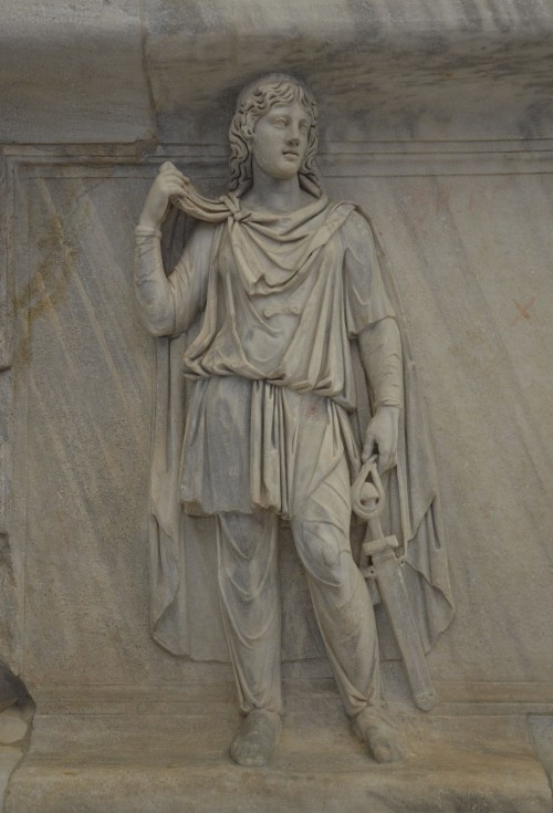 Representation of one of the Roman provinces, perhaps Scythia or Noricum, relief from the Hadria, Naples National Archaeological Museum © Carole Raddato