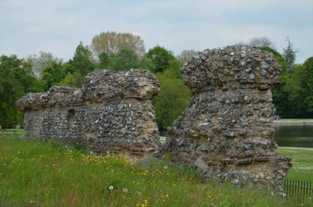 The city walls of Verulamium, St Albans © Carole Raddato