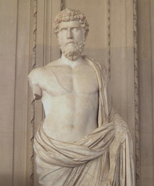 Heroic statue of Lucius Aelius Caesar, Louvre © Carole Raddato