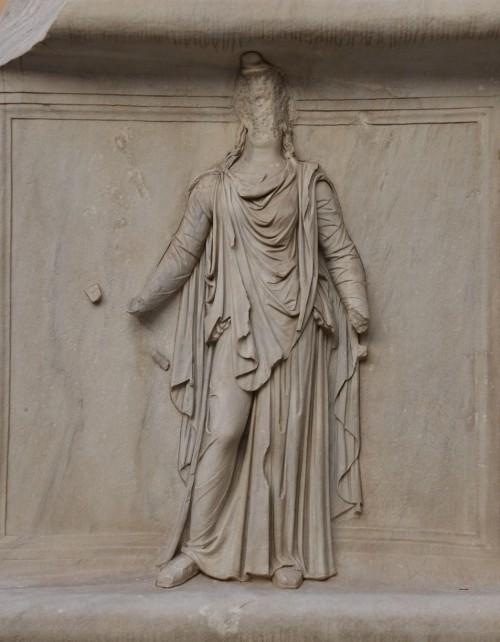 Representation of one of the Roman provinces, perhaps Mauretania, relief from the Hadrianeum, Capitoline Museum © Carole Raddato