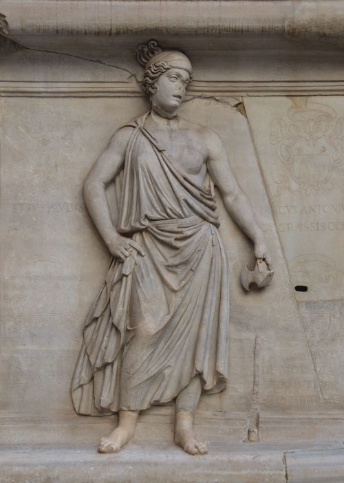 Representation of one of the Roman provinces, perhaps Scythia or Noricum, relief from the Hadrianeum, Naples National Archaeological Museum © Carole Raddato