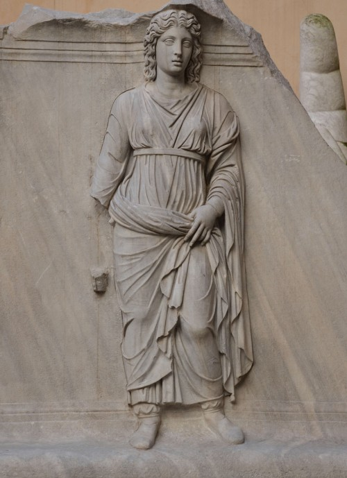 Representation of one of the Roman provinces, perhaps Dacia, relief from the Hadrianeum, Capitoline Museum © Carole Raddato