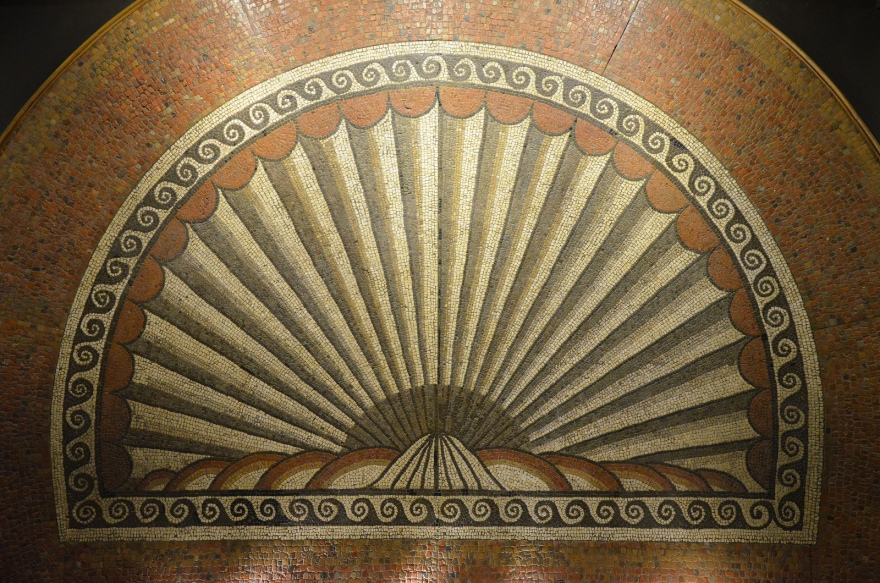 The Shell Mosaic, dated to c. AD 150, Verulamium Museum, St Albans © Carole Raddato