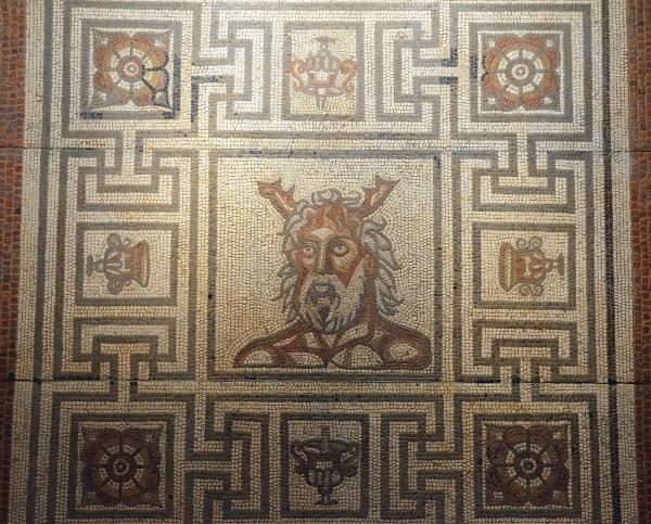 Oceanus Mosaic, 160-190 AD, Verulamium Museum, St Albans © Carole Raddato