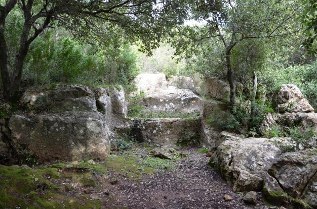Roman quarry near the Temple of Antas, Sardinia © Carole Raddato