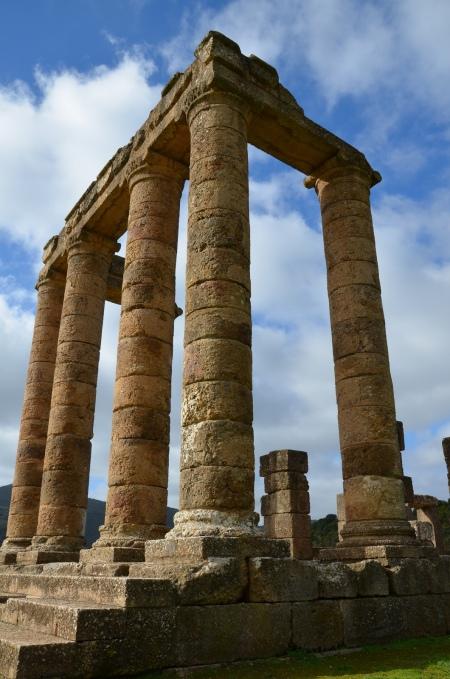 The proanos of the Temple of Antas, Sardinia © Carole Raddato