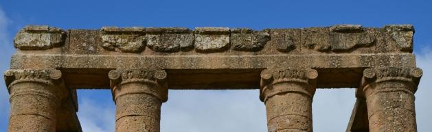 The Latin inscription in honor of Caracalla, Temple of Antas, Sardinia © Carole Raddato