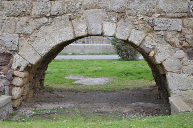 Roman bridge, one of the barrel-vaulted, Sant'Antioco, Sardinia Carole Raddato CC BY-SA
