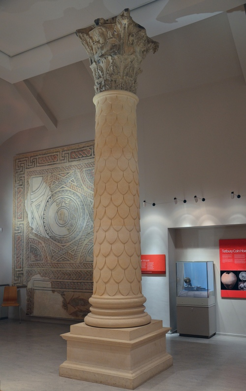 The reconstructed Jupiter Column, Corinium Museum, Cirencester Carole Raddato CC BY-SA