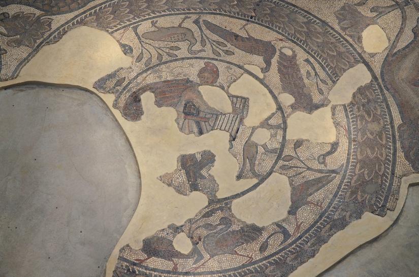 The 4th century AD Orpheus Mosaic, Corinium Museum, Cirencester Carole Raddato CC BY-SA