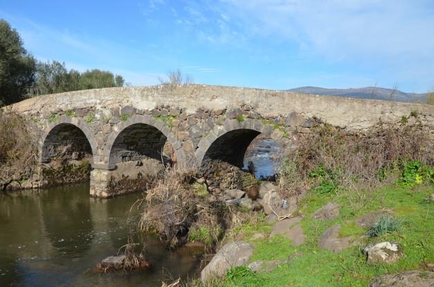 Roman bridge near Birori, Sardinia Carole Raddato CC BY-SA