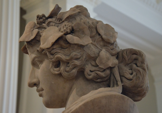 Marble bust of Antinous portrayed as the reborn god Dionysus, known as Lansdowne Antinous, Fitzwilliam Museum, Cambridge (UK) Carole Raddato CC BY-SA