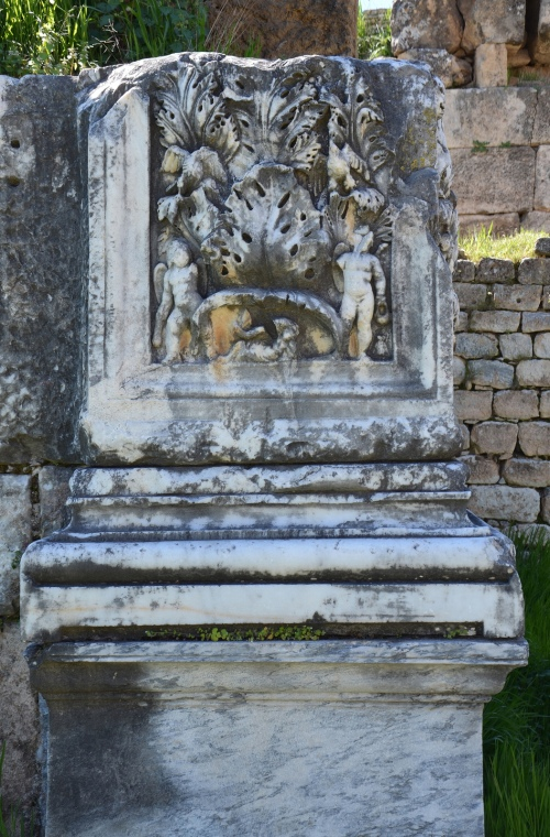 The pilaster friezes of the palaestra which are distinctive works of the Aphrodisias school of sculpture, Aphrodisias Carole Raddato CC BY-SA