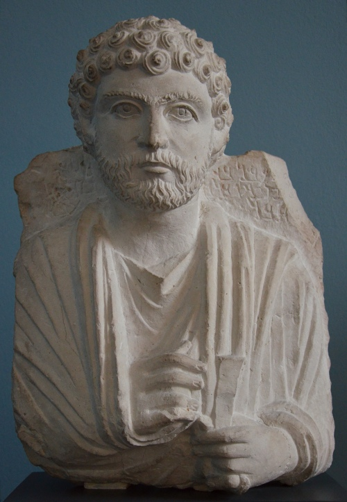Limestone portrait of a Palmyrene man called Yedibel and shown with a full beard (following the fashion in Rome), c. 170-190 AD Ny Carlsberg Glyptotek, Copenhagen Carole Raddato CC BY-SA