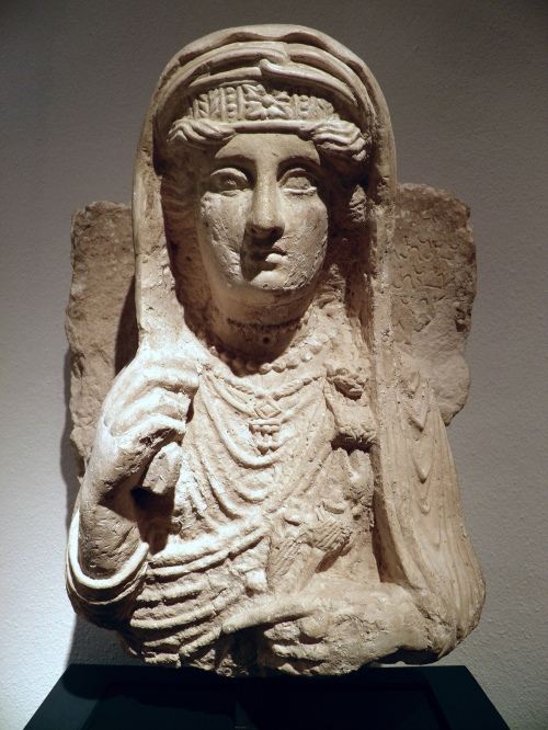 Limestone portrait of a lady from Palmyra, 2nd century AD Romisch-Germanisches Museum, Cologne Carole Raddato CC BY-SA