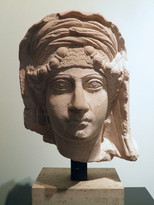 Funerary portrait of a lady from Palmyra, 2nd century AD Civico museo archeologico di Milano Carole Raddato CC BY-SA
