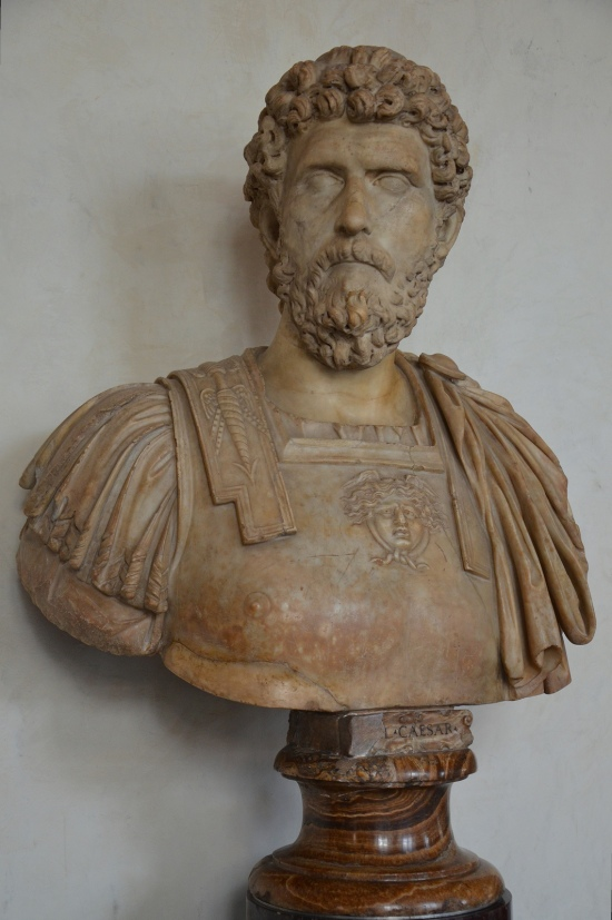 Lucius Aelius Caesar, intended successor of Hadrian who died prematurely, 2nd century AD, Galleria degli Uffizi, Florence Carole Raddato CC BY-SA