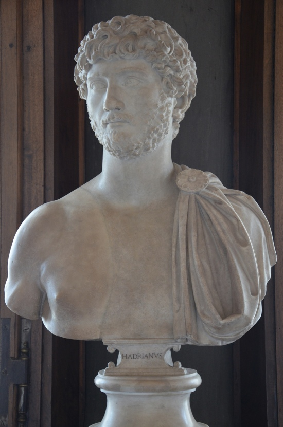 "Portrait of an unknown young man so-called ""Young Hadrian"", 130-140 AD, Galleria degli Uffizi, Florence Carole Raddato CC BY-SA"
