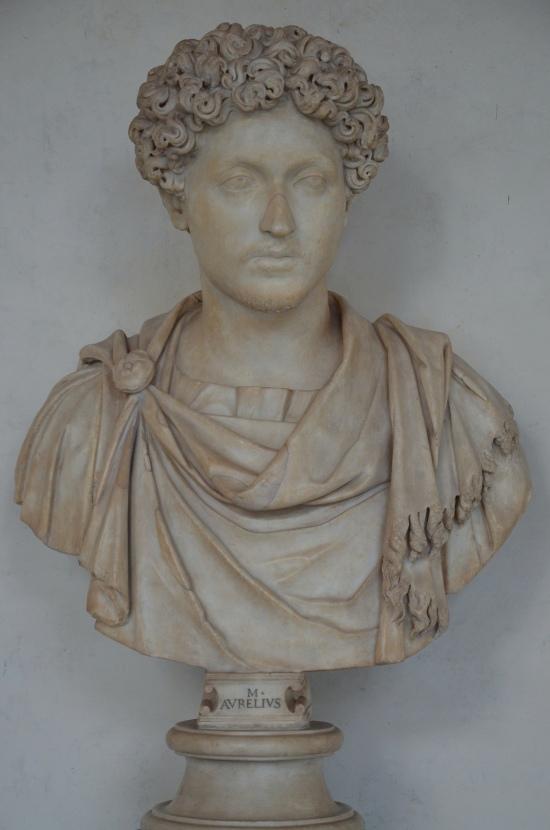 Young Marcus Aurelius, circa 150 - 160 AD, Galleria degli Uffizi, Florence Carole Raddato CC BY-SA
