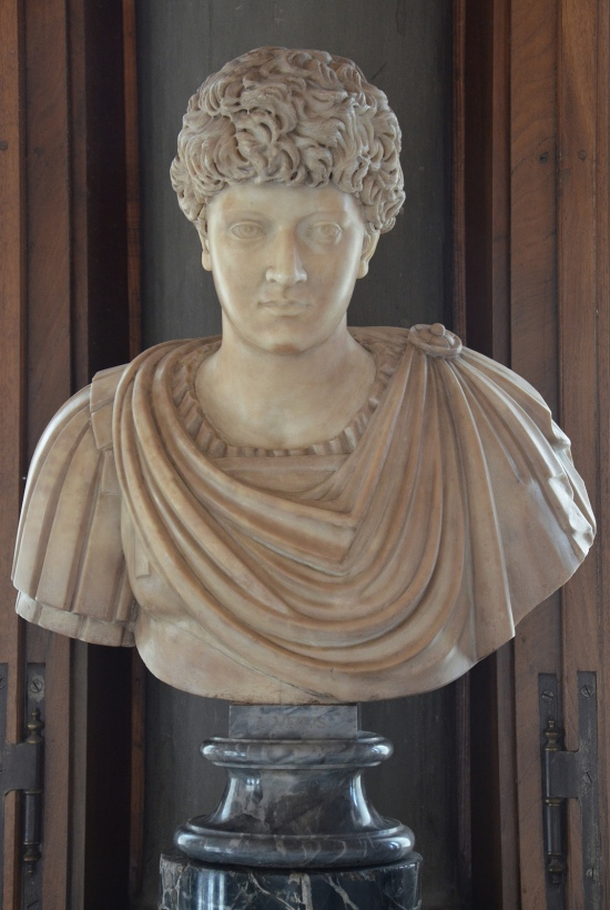 Portrait of an unknown young man from the Antonine era (previously thought to be Lucius Verus and Marcus Aurelius), Galleria degli Uffizi, Florence