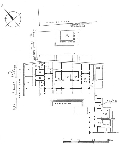 Plan of the House of Augustus
