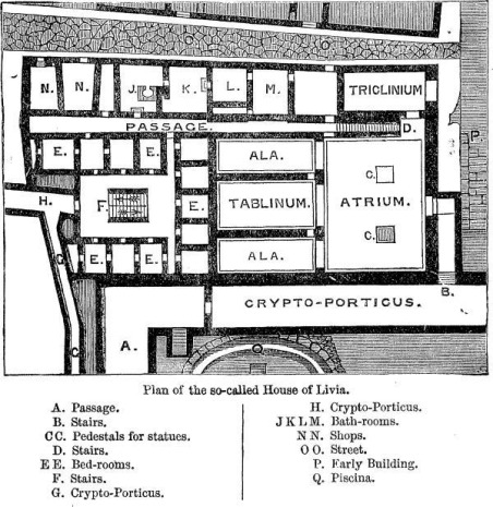 Plan of the House of Livia