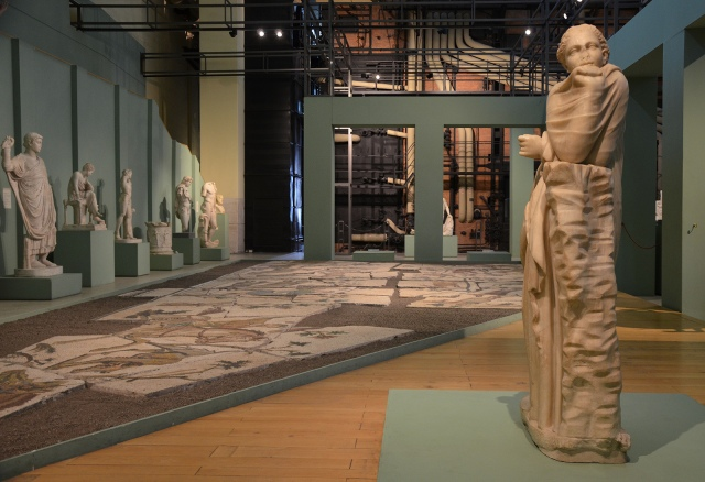 The Boiler Room, Centrale Montemartini, Rome museum. Photo © Carole Raddato.