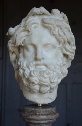 Head of Silvanus crowned with pine Centrale Montemartini, Rome