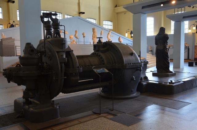 The Engine Room, Centrale Montemartini, Rome museum. Photo © Carole Raddato.