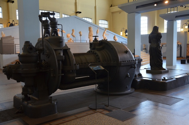 The Engine Room, Centrale Montemartini, Rome museum. Photo © Carole Raddato.