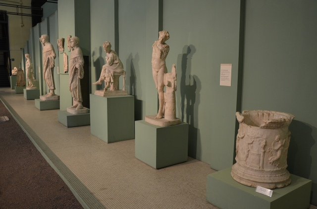 The Boiler Room, Centrale Montemartini, Rome museum. Photo © Carole Raddato.