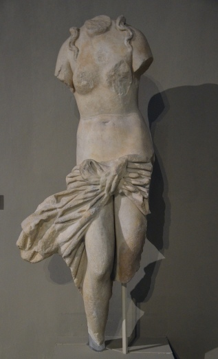 Statue of Aphrodite, from the Gymnasium of Salamis, 2nd century AD, Cyprus Museum, Nicosia, Cyprus