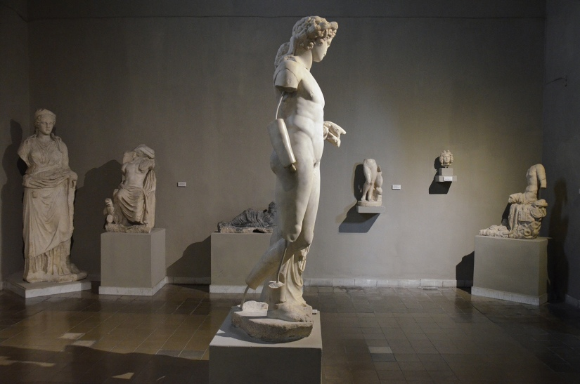 Sculptures from the Gymnasium of Salamis, 2nd century AD, Cyprus Museum, Nicosia