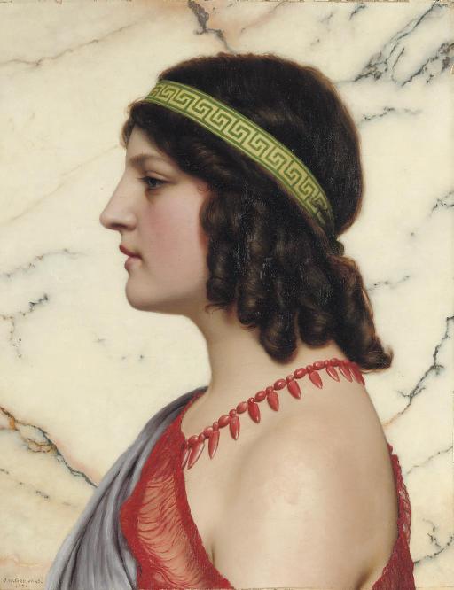 Praxilla by John William Godward (1921)